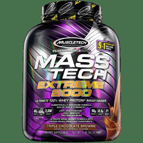Muscletech, Mass Tech Extreme 2000, Triple Chocolate Brownie, 7Lbs in Bangladesh