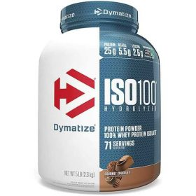Dymatize Nutrition, ISO100 Hydrolyzed, 100% Whey Protein Isolate, Gourmet Chocolate - 5 lb in Bangladesh