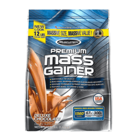 Muscle tech,100% Premium Mass Gainer,Chocolate - 12 Lbs (5.44 kg), Best price in (BD) Bangladesh