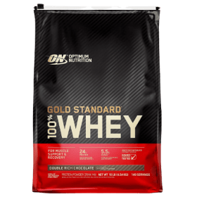 Optimum Nutrition (ON) Gold Standard 100% Whey Protein Isolates Double Rich Chocolate 10Lbs in (BD) Bangladesh