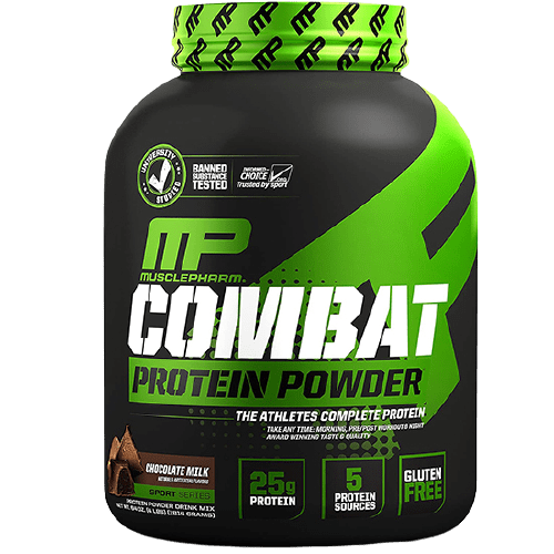 MusclePharm (MP) Combat 100% Whey Protein Chocolate Milk 4Lbs in Bangladesh