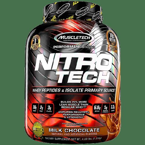 Muscletech Nitro-Tech Protein Powder Milk Chocolate 4Lbs in Bangladesh