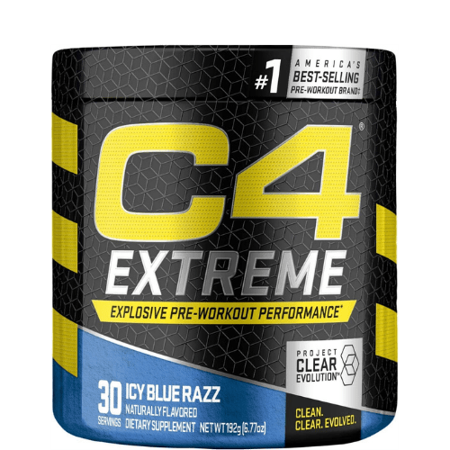 Cellucor C4 Extreme Pre Workout Powder Icy Blue Razz 30 Servings in Bangladesh