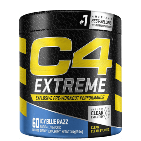 Cellucor C4 Extreme Pre Workout Powder Icy Blue Razz 60 Servings in Bangladesh