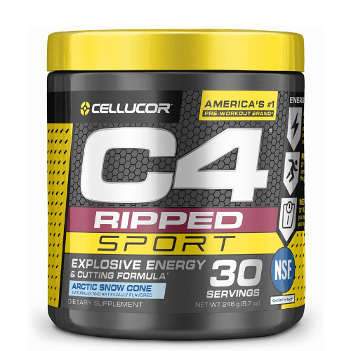 Cellucor, C4 Ripped Sport Pre Workout, Arctic Snow Cone, 30 Servings in (BD) Bangladesh