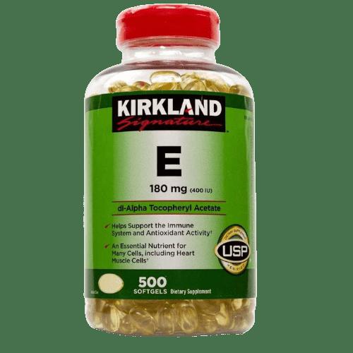 Kirkland Signature, Vitamin E 400 I.U. 500 Softgels, in (BD) Bangladesh