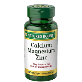Nature's Bounty, Calcium Magnesium Zinc with Vitamin D3, 100 Tablets (Coated Caplets) in Bangladesh