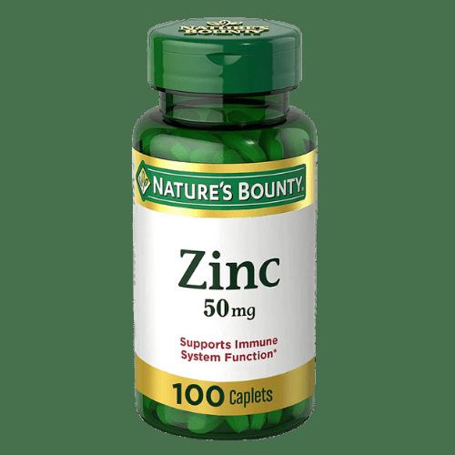 Nature's Bounty, Zinc 50 mg,100 (Caplets) Tablets in Bangladesh