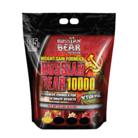 Russian Bear 10,000 Weight Gainer, Chocolate - 15 Lbs (7 Kg), Best price in (BD) Bangladesh